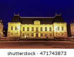 parliament of brittany in... | Shutterstock . vector #471743873