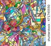 back to school vector seamless... | Shutterstock .eps vector #471745550