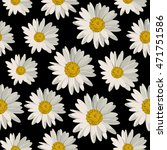 seamless pattern with white... | Shutterstock .eps vector #471751586