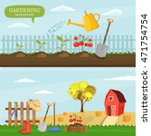 farm infographics colorful... | Shutterstock .eps vector #471754754
