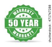 50 year warranty icon vector... | Shutterstock .eps vector #471767288