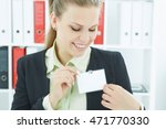 happy smiling young business... | Shutterstock . vector #471770330