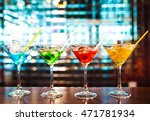 multicolored cocktails at the... | Shutterstock . vector #471781934