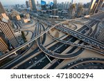 dubai car traffic  busy roads ... | Shutterstock . vector #471800294