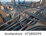 Dubai Car Traffic  Busy Roads ...
