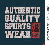 t shirt print design.... | Shutterstock .eps vector #471801803