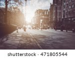 blurred traffic and buildings... | Shutterstock . vector #471805544