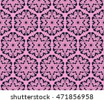 purple. floral seamless pattern ...