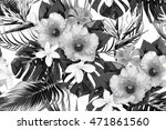 beautiful seamless vector... | Shutterstock .eps vector #471861560