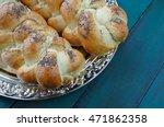 over head view of jewish... | Shutterstock . vector #471862358