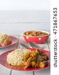 Middle Eastern Bamiya And Rice...