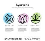 ayurveda vector illustration... | Shutterstock .eps vector #471879494