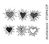 heart icon illustration design | Shutterstock .eps vector #471896129
