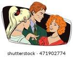 stock illustration. people in... | Shutterstock .eps vector #471902774