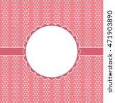wedding card or invitation  | Shutterstock . vector #471903890