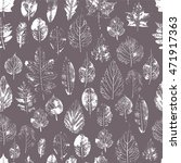 seamless pattern with stamp... | Shutterstock .eps vector #471917363