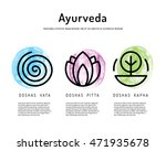 ayurveda vector illustration... | Shutterstock .eps vector #471935678