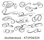 design elements. vector... | Shutterstock .eps vector #471936524