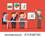 people business project... | Shutterstock .eps vector #471948740