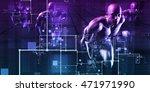 system integration concept of... | Shutterstock . vector #471971990