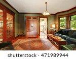 traditional living room... | Shutterstock . vector #471989944