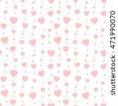 seamless background hearts.... | Shutterstock . vector #471990070