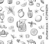collection lemonade. vector... | Shutterstock .eps vector #471996094
