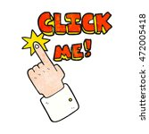 click me freehand textured... | Shutterstock . vector #472005418