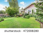 backyard area with nicely... | Shutterstock . vector #472008280