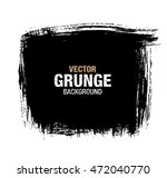 vector black grunge background | Shutterstock .eps vector #472040770