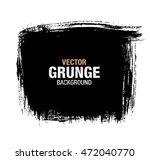 vector black grunge background | Shutterstock .eps vector #472040770