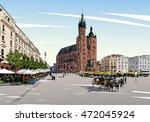 Poland. Krakow. St. Mary's...