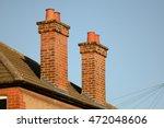 Victorian House Chimneys