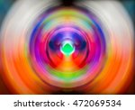 Colorful Redial Blur Abstract...