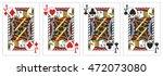 4 Of A Kind Jacks Poker Playin...