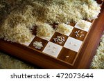 chessboard with exponential... | Shutterstock . vector #472073644