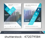 front and back page brochure... | Shutterstock .eps vector #472079584