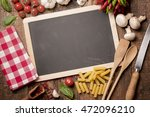 italian food cooking. tomatoes  ... | Shutterstock . vector #472096210