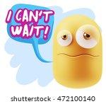 3d rendering sad character... | Shutterstock . vector #472100140