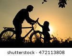 father and daughter having fun... | Shutterstock . vector #472113808