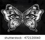 beautiful butterfly wings with... | Shutterstock .eps vector #472120060