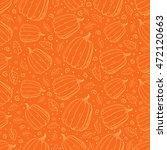 Vector Outline Pumpkins...