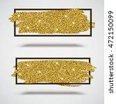 gold sparkles  glitter... | Shutterstock .eps vector #472150099