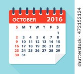 October 2016 Calendar  ...