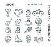 set modern thin line web icons... | Shutterstock .eps vector #472154173