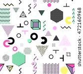 trendy geometric elements... | Shutterstock .eps vector #472160968