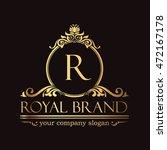royal brand logo | Shutterstock .eps vector #472167178