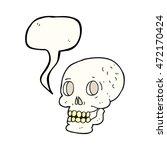 freehand drawn speech bubble... | Shutterstock . vector #472170424