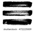 set of brush strokes | Shutterstock .eps vector #472225009