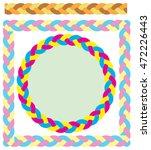 pattern brush  repeatable... | Shutterstock .eps vector #472226443